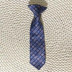 Boy's purple tie